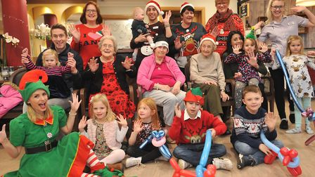 Field Lodge Care Home Christmas party