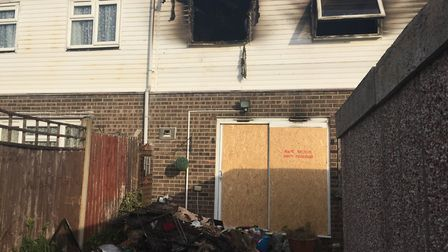 Suzanne and Stuart's Eaton Socon home was destroyed in the blaze on January 5.
