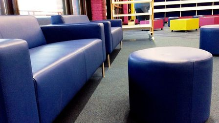 The new children'ts area at St Albans Library. Picture: Hertfordshire County Council Library Service