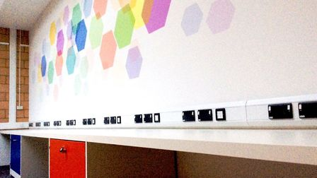 A sneak peek at the new creative space at St Albans Library. Picture: Hertfordshire County Council L