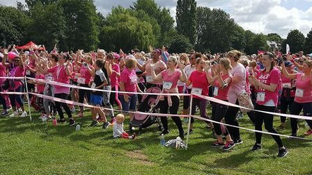 St Albans Race for Life 2017 in Verulamium Park - photos by Courtney Culverhouse.