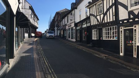 George Street, St Albans, home to Suckerpunch Bar, among other attractions. Picture: Jane Howdle