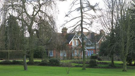 The groundkeeper's house in Clarence Park, St Albans. Picture: Danny Loo