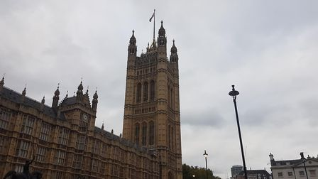 The Houses of Parliament the day after the 2018 Budget.