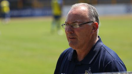 St Albans City manager Ian Allinson felt the big decisions at Truro didn't go their way. Picture: DA
