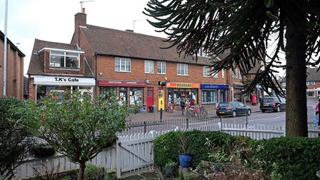 A cafe and a hardware store are some of the amenities on offer on Southdown Road. Picture: Danny Loo