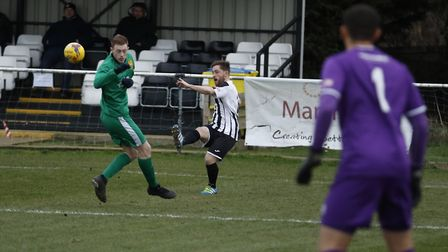Ben Seymour-Shove delivered the corners for both St Ives Town goals as they beat Hitchin. Picture: L