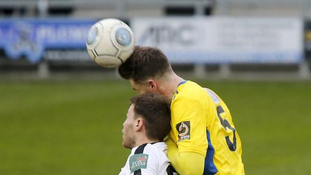 Lewis Knight attacks the ball. Picture: LEIGH PAGE