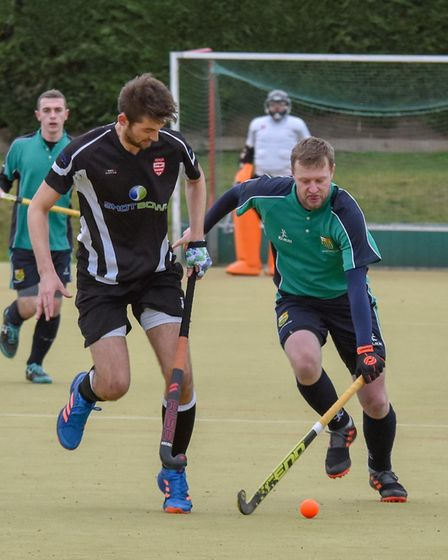 Mat Bamford helped St Ives 1sts to victory in their first outing of 2019. Picture: J BIGGS PHOTOGRAP