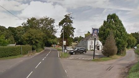 The B651 and Dyke Lane junction in Wheathampstead. Picture: Google Street View