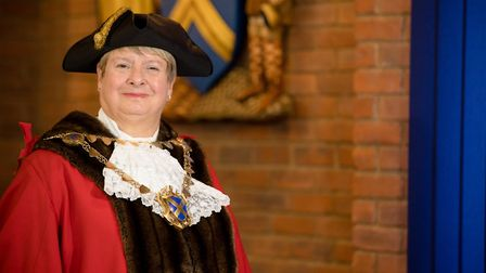 St Albans Mayor Cllr Rosemary Farmer will be hosting a service for Holocaust Memorial Day. Picture: