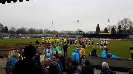St Albans City took on Woking in the Vanarama National League South at Clarence Park.