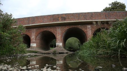 London Colney's Telford Bridge is Grade II listed. Picture: DANNY LOO