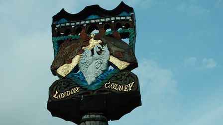 Welcome to London Colney. Picture: Debbie White