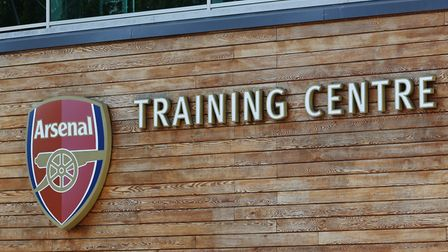 Arsenal's London Colney training ground. Picture: DANNY LOO