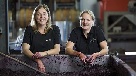 Bec and Lucy Willson of Bremerton Wines.