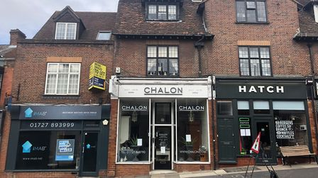 Some of the shops on Holywell Hill, St Albans. Picture: Aitchison Raffety