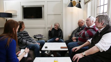 Herts Advertiser reporter Franki Berry sits down with The Zombies at the Clarion Hotel in St Albans