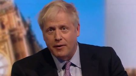 Boris Johnson struggled to asnswer a pointed question by a Bristol imam on the BBC Tory leadership d