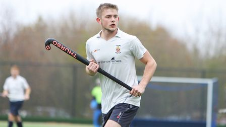 Reece Baker-Kiff was one of the scorers for Harpenden in their win against Bedford. Picture: Kary