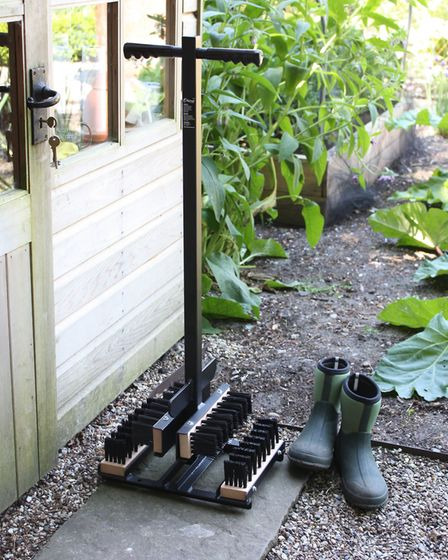 2. Country Garden Boot Wiper, £84.95, Harrodhorticultural.com. Picture: Harrod Horticultural/PA