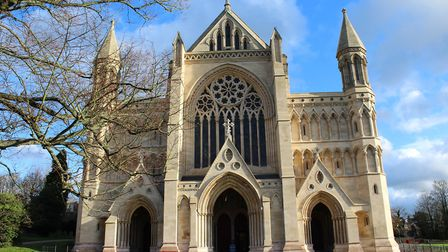 Police have been made aware of a dog attack near St Albans Cathedral today. Picture: St Albans Cathe
