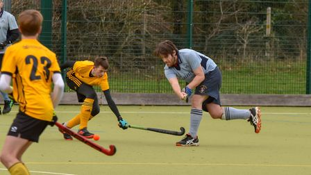 Sam Setchell of St Neots 3rds during their loss to Horncastle 2nds. Picture: J BIGGS PHOTOGRAPHY