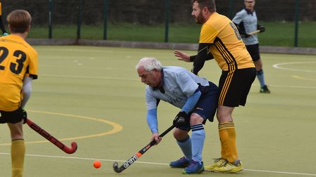 Geoff Watts in action for St Neots 3rds against Horncastle 2nds. Picture: J BIGGS PHOTOGRAPHY
