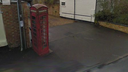 The phone box in Catworth which is to be removed. Picture: GOOGLE