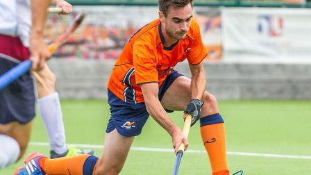 St Albans Hockey Club's George Scott. Picture: CHRIS HOBSON PHOTOGRAPHY