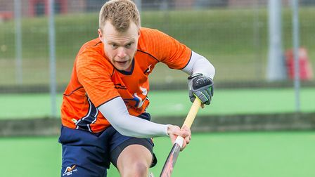 St Albans Hockey Club's Charlie Bowskill. Picture: CHRIS HOBSON PHOTOGRAPHY
