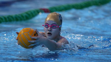 Pupils from Heathlands School in St Albans competed in a national deaf swimming championship. Pictur