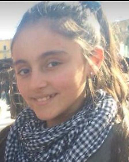 Have you seen 13-year-old Megi Bukaci in St Albans? Picture: supplied by Herts Police