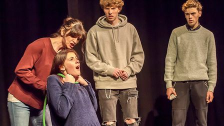 Company of Ten's production of Beautiful Thing opens at the Abbey Theatre in St Albans this week. Pi