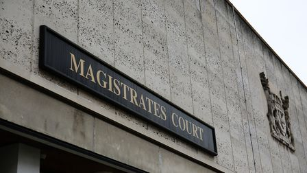 A man has been fined after interfering with a car in Harpenden. Picture shows St Albans Magistrates'