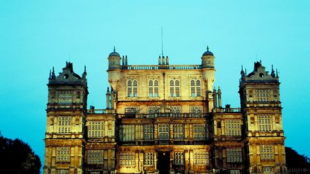 Batman's pad: Wollaton Hall, Nottingham. Picture: Getty