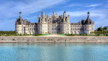 Chateau de Chambord in the Loire valley inspired the illustrators of Beauty & the Beast. Picture: Ge