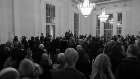 The private view of the Imprinted Exhibitions at St Albans Museum + Gallery. Picture: Martin Stewart