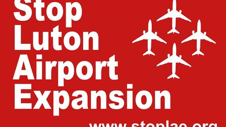 The Stop Luton Airport Expansion logo. Picture: SLAE