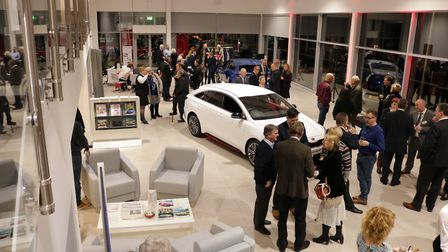 The new Mantles Kia showroom. Picture: Alan Stuart of Autovids