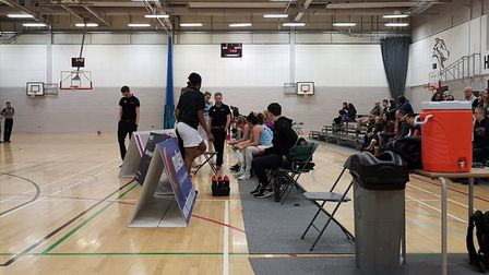 Oaklands Wolves took on Leicester Riders in the WBBL Trophy at Oaklands Sportszone.