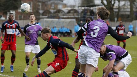 Tom Bender heads towards goal. Picture: LEIGH PAGE