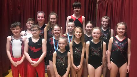 Rotations youngsters who took part in the regional qualifier.