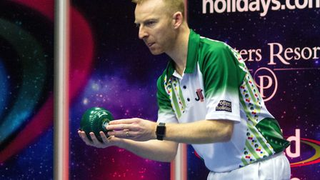 Nick Brett's hopes of a second world singles title were ended. Picture: TONY RUSHMER