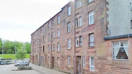 A one-bed flat on Bruce Street, Port Glasgow, could be yours for just £4,000
