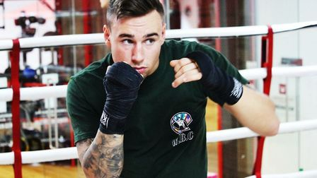 St Ives boxer Bradley Smith is gearing up for a March return.