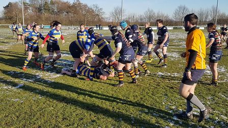 OA Saints took on Old Elthamians at Woollams.