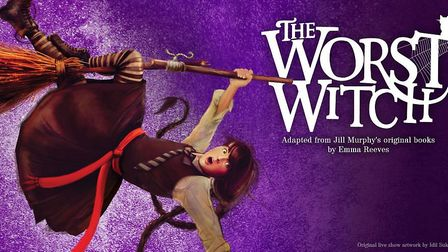 The Worst Witch is showing at the Cambridge Arts Theatre