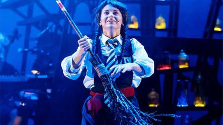 Danielle Bird plays Mildred in The Worst Witch