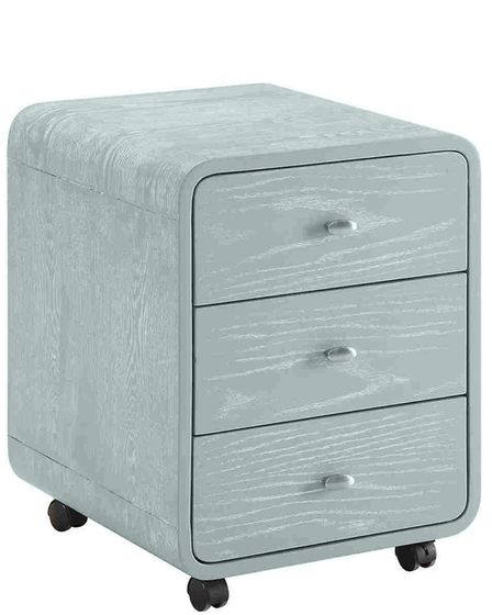 Kill The Clutter: Curve Home Office Grey Ash Three Drawer Pedestal, currently reduced from £311 to £